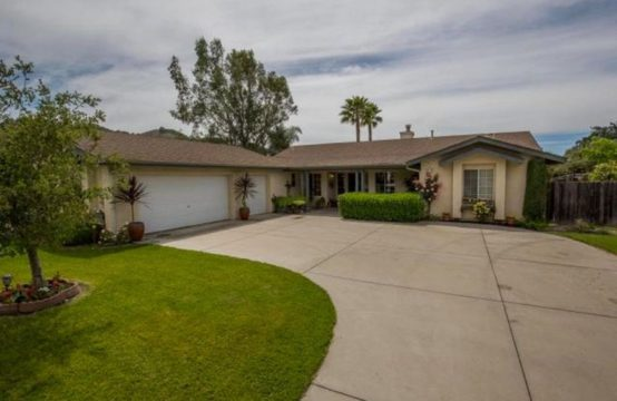 SOLD – Wine Country Charm
