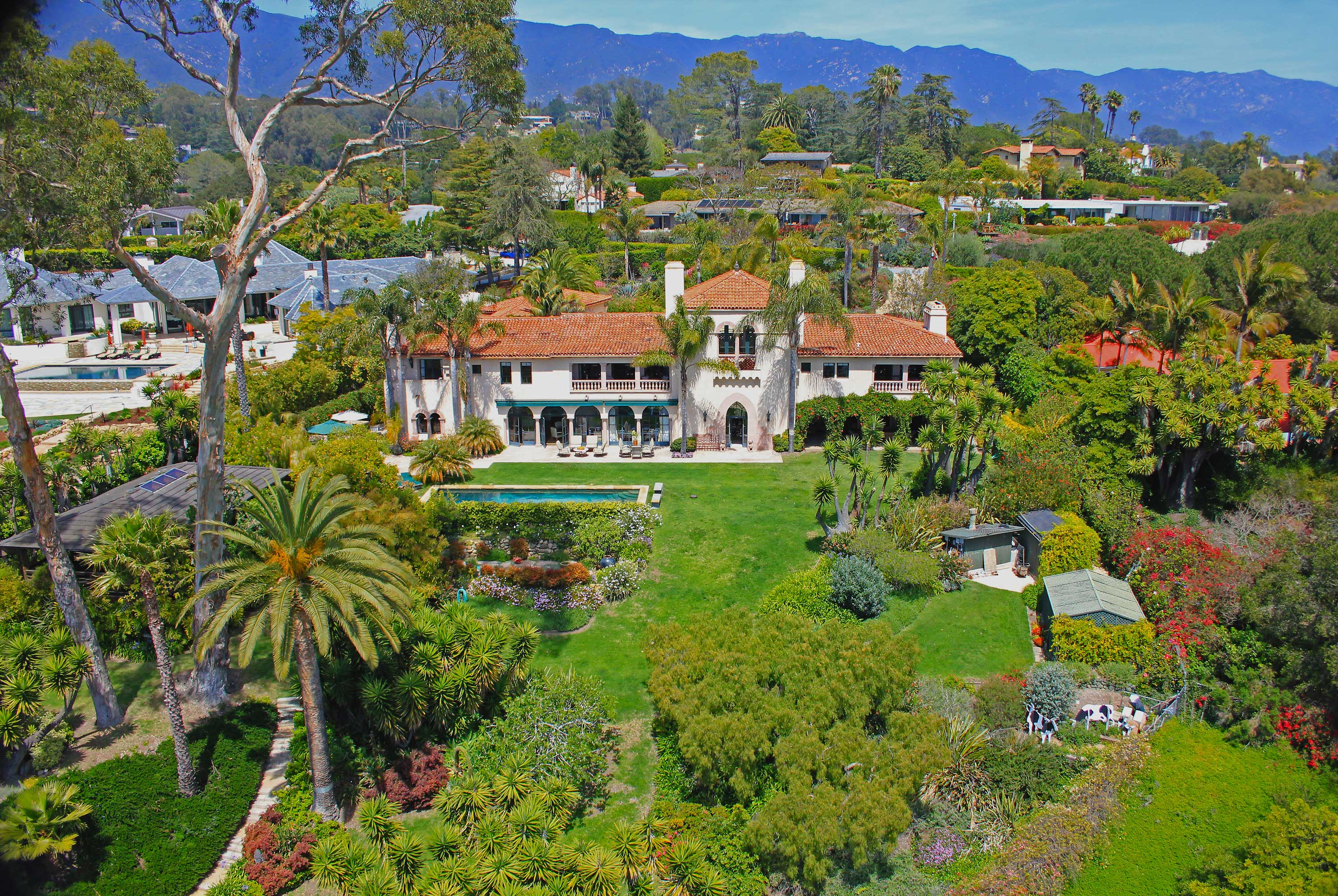 SOLD – Romantic Montecito Estate