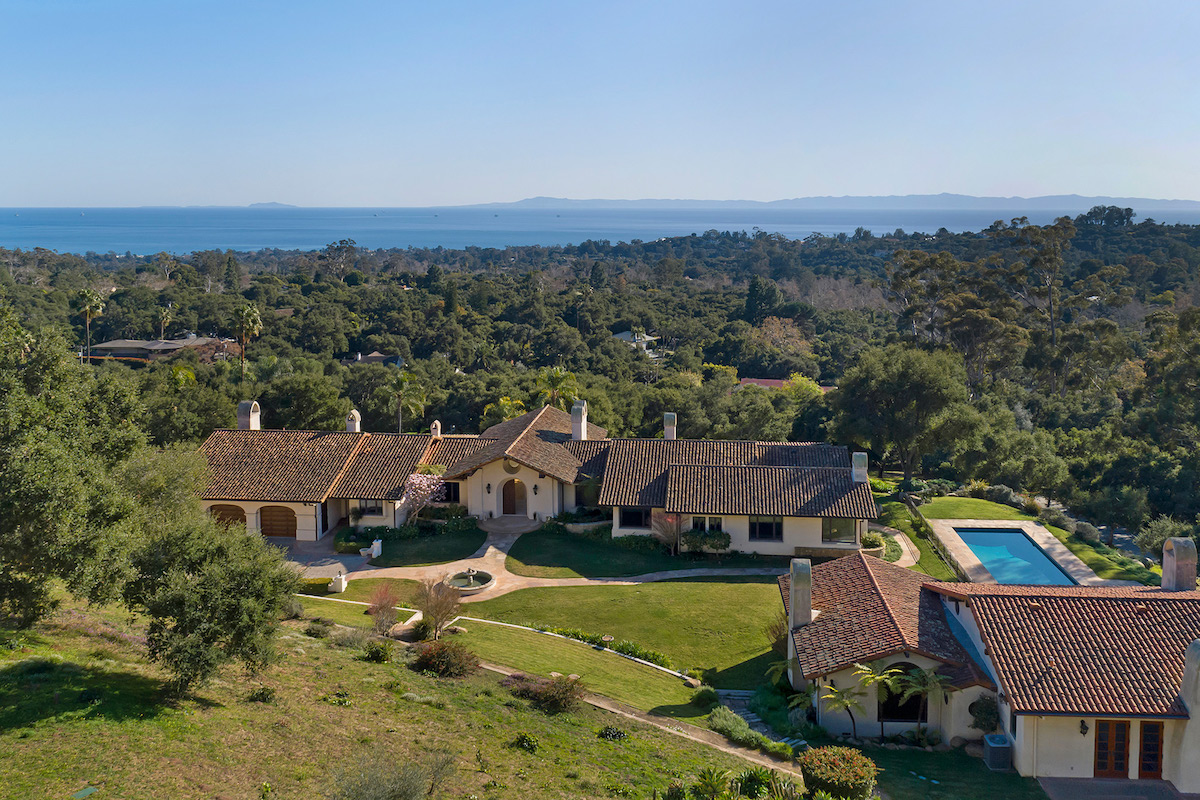 Grandiose Montecito Ocean View Estate – For Rent
